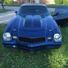 2nd generation classic blue 1979 Chevrolet Camaro For Sale