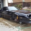 3rd gen black 1991 Chevrolet Camaro project car For Sale