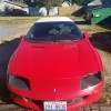 4th gen red 1997 Chevrolet Camaro RS V6 automatic For Sale