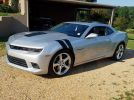 5th gen silver 2015 Chevrolet Camaro SS low miles For Sale