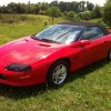 4th gen red 1995 Chevrolet Camaro Z28 LT1 automatic [SOLD]