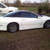 4th gen white 1998 Chevrolet Camaro V6 automatic For Sale