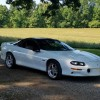 4th generation white 1998 Chevrolet Camaro Z28 6spd For Sale