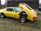 2nd gen yellow 1978 Chevrolet Camaro Z28 race car For Sale