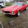 2nd generation red 1973 Chevrolet Camaro 383 V8 For Sale
