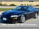 4th gen black 2002 Chevrolet Camaro Z28 T-tops For Sale