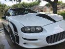 4th gen white 1999 Chevrolet Camaro Z28 SS clone For Sale