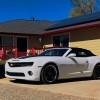 5th gen white 2011 Chevrolet Camaro 2SS convertible For Sale