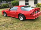 3rd gen red 1991 Chevrolet Camaro Z28 V8 automatic For Sale