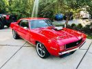 1st gen red supercharged 1969 Chevrolet Camaro For Sale