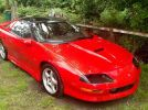 4th gen red 1997 Chevrolet Camaro SS 350 automatic For Sale