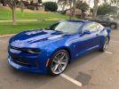 6th generation blue 2017 Chevrolet Camaro 2LT V6 For Sale