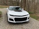 6th gen white 2019 Chevrolet Camaro ZL1 10spd auto For Sale