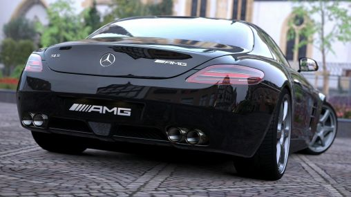 Mercedes-Benz SLS AMG 1920×1080 HD
