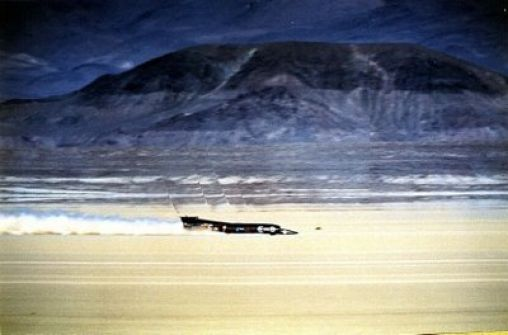 The fastest car in the world – Thrust SSC (SuperSonic car)