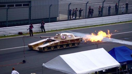 Super tank goes 500km/h