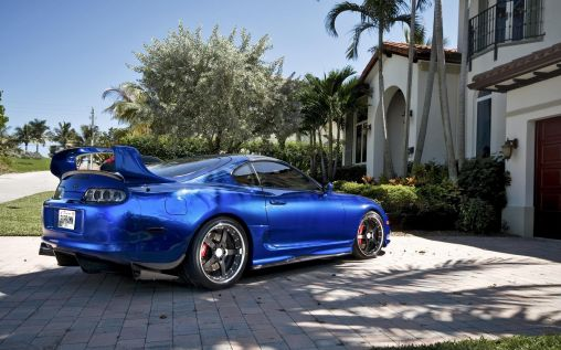 Toyota Supra 360 Forged CF Straight 5 1920×1200 HD