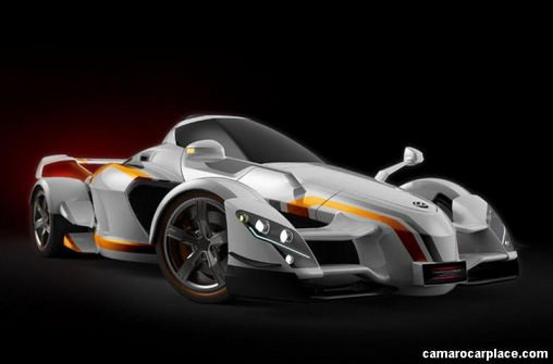 """""""Tramontana XTR"""" Supercar from Spain with 888hp"""
