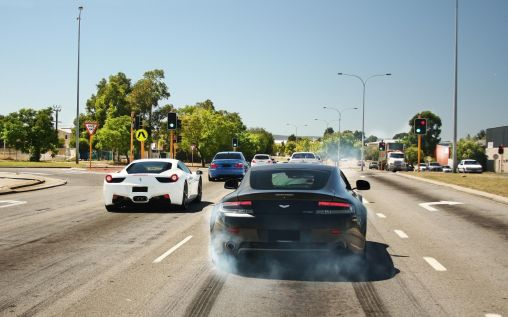 Supercars performance on the road 2560×1600 HD