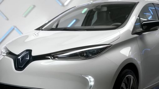 Government of France ordered 2100 Renault electric cars