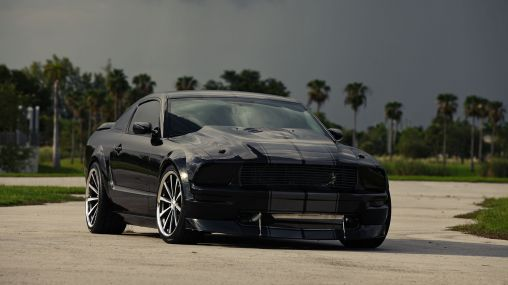 Ford Mustang Shelby GT500 5.4L on Vossen Wheels 1920×1080 HD