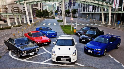Nissan Skyline car models from 1971 to 2012 1920×1080 HD