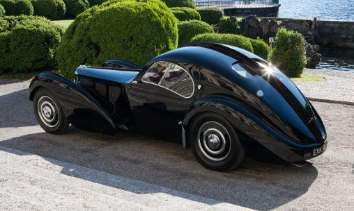 1938 Bugatti Type 57SC Atlantic is worth 40 million USD