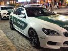 Dubai police bought 4 door BMW M6 Gran Coupe & Ford Mustang