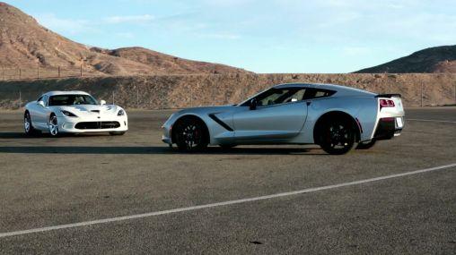2014 Chevrolet Corvette Stingray vs 2013 SRT Viper Coupe