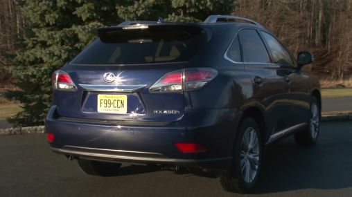 Going Offroad with the Lexus RX