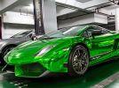 Green chrome exterior Lamborghini Gallardo Superleggera