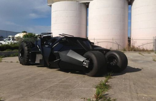 Street Legal Batmobile Tumbler for sale for 1 million USD