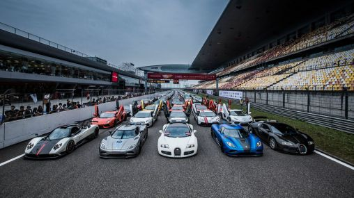 Supercars at the 2012 Super Show in Shanghai 1920×1080 HD