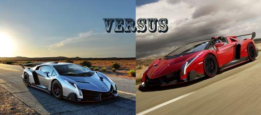 Lamborghini Veneno Roadster vs. the Original Lamborghini Veneno
