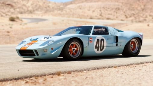 Blue 1968 Ford GT40 Le Mans Gulf Oil Muscle Car 1920×1080 HD