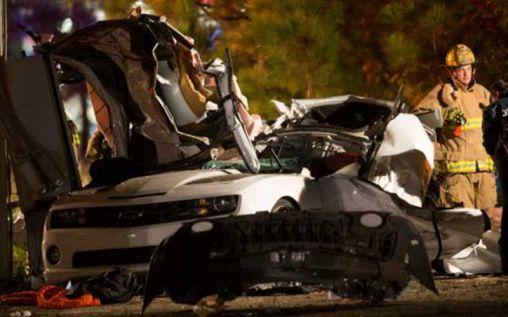 Deadly white Camaro crash in Harris County – 3 people dead