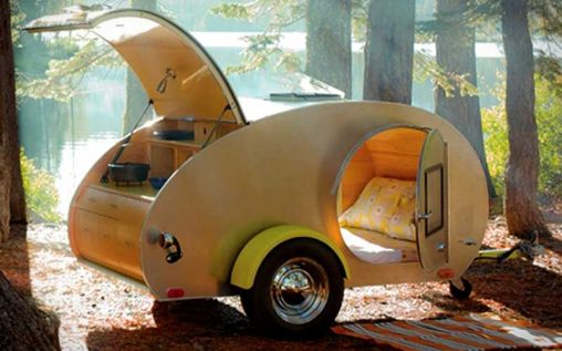 Teardrop Trailers: The Most Fashionable Way to see Nature
