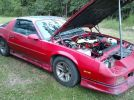 3rd generation red 1991 Chevrolet Camaro automatic For Sale