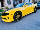 5th gen yellow 2010 Chevrolet Camaro 2SS manual For Sale