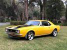 1st gen restored yellow 1967 Chevrolet Camaro 4spd For Sale