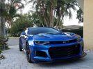 6th gen Hyper Blue 2018 Chevrolet Camaro ZL1 650 HP For Sale
