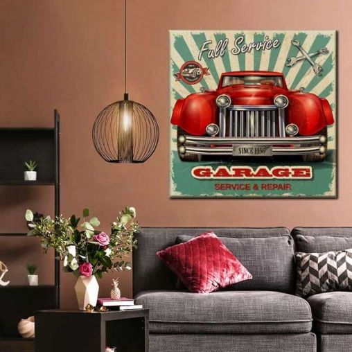 How To Create Wall Decor Out Of Favourite Camaro Picture
