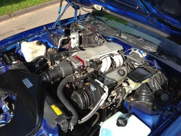 Blue 1987 Chevrolet Camaro IROC-Z 305 TPI automatic For Sale