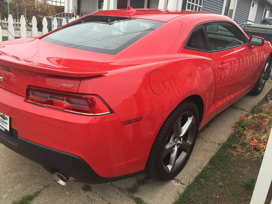 red 2014 chevrolet camaro lt with rs package sold camarocarplace. Black Bedroom Furniture Sets. Home Design Ideas