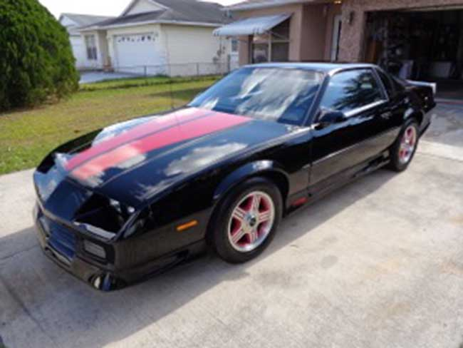 3rd gen 1992 chevrolet camaro rs 25th anniversary for sale. Black Bedroom Furniture Sets. Home Design Ideas